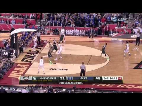 Grayson Allen Dunk v Michigan State NCAA Tournament