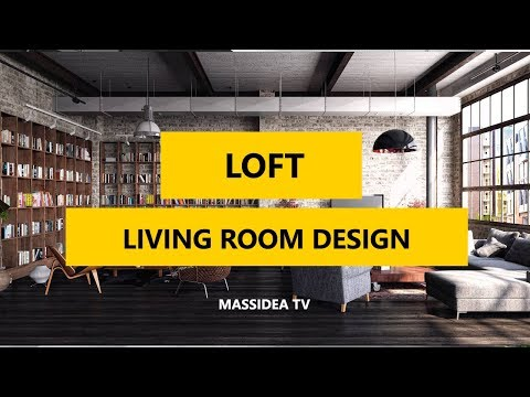 100+ Awesome Loft Living Room Design Ideas in 2017