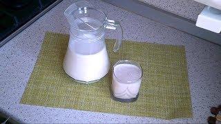 Молоко из овсяных хлопьев - полезный напиток!