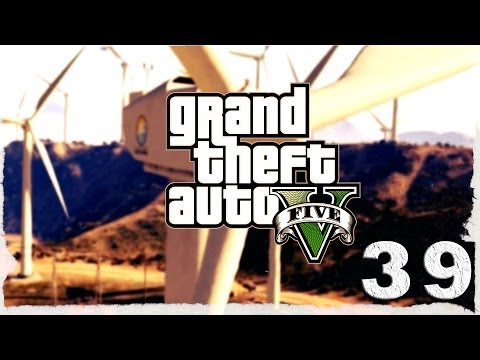 Смотреть прохождение игры Grand Theft Auto V. Серия 39 - Верхом на... поезде!