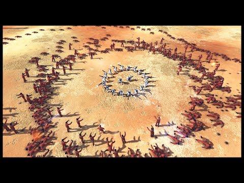 EPIC NEW STAR WARS ARENA! 400 Zombies vs 20 Clones - Men of War Star Wars Mod Gameplay