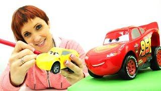 Молния Маквин учит английский. Развивающие машинки - Маша Капуки - Английский для детей