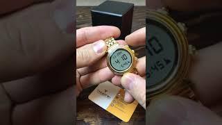Время намаза для Хасавюрта. Настройка часов Alfajr WF14 женские