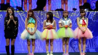 Idol group 9nine makes a surprise appearance with Trevor Horn at St...