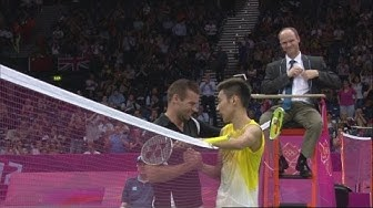 Chong Wei Lee (MAS) v Ville Lang (FIN) - Badminton Singles Group A | London 2012 Olympics