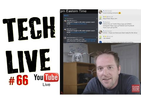 Last Show For The Summer!  Monday Tech Live Show #66