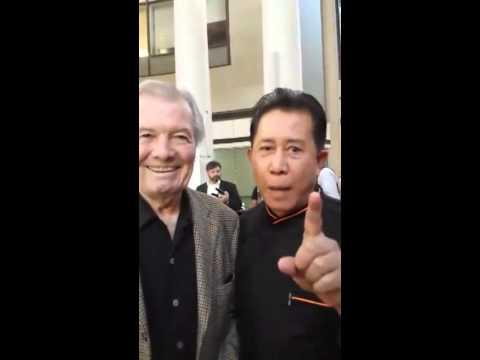 Jacques Pepin and Martin Yan Wish Chuck Williams a Happy Birthday