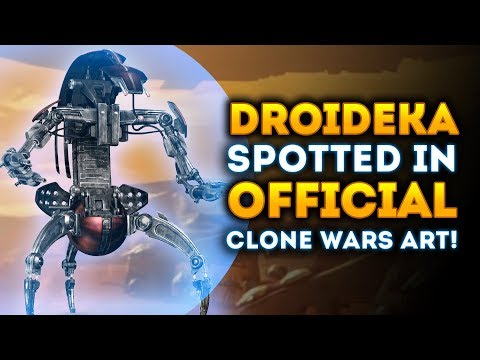 Droideka Spotted in OFFICIAL Battlefront 2 Clone Wars DLC Artwork! - Star Wars Battlefront 2 thumbnail