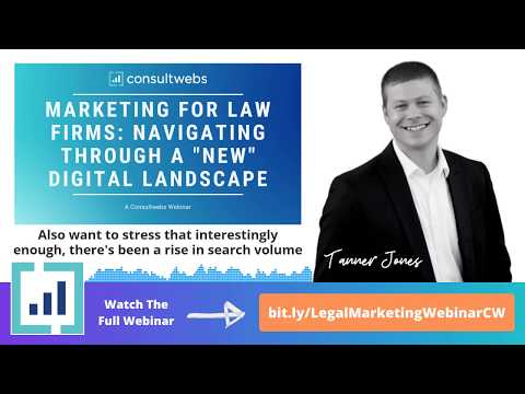 """Marketing for Law Firms - Navigating the """"New"""" Digital Landscape (EXCERPT)"""