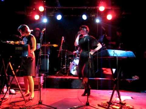 Ladytron - Tomorrow - Live - Aberdeen - 28th November 2008