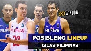 Kung Ganito lang SANA ang Lineup ng GILAS | FIBA World Cup Asian Qualifiers
