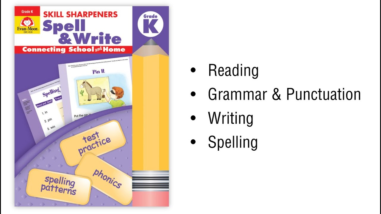 Skill Sharpeners: Spell & Write, Grade 5 - Activity Book