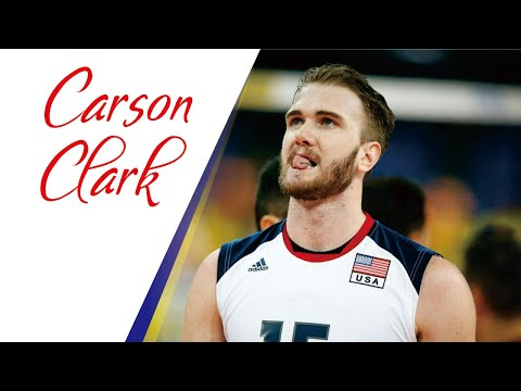 Top 15 Lefthanded Spikes by CARSON CLARK   Hitter of USA Volleyball