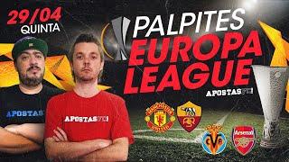 Palpites Europa League Quinta 29/04 - Semifinal | AFC Dicas