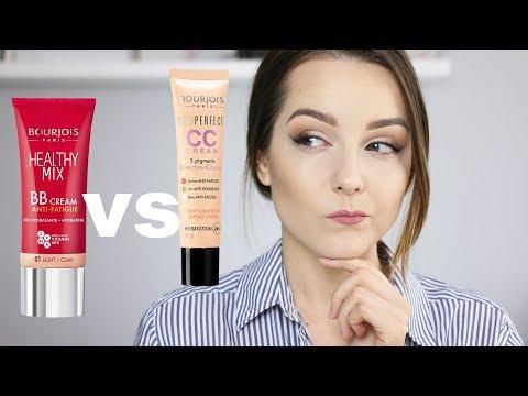 BOURJOIS BB kontra CC - KTÓRY LEPSZY? | Milena Makeup