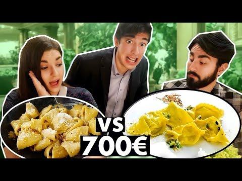 CARBONARA ECONOMICA VS CARBONARA PIÙ COSTOSA DI ROMA *costoso*