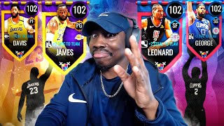 BATTLE FOR LA! Pack Opening & Gameplay | NBA Live Mobile 20 Season 4 Ep. 54
