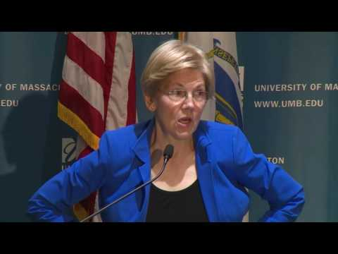 New England Women's Policy Conference: Speaker: Sen. Elizabeth Warren