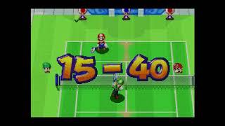 Mario Tennis Power Tour GBA gameplay