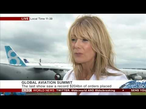 BBC World News Interviews Connect Jets MD Gabriella Somerville
