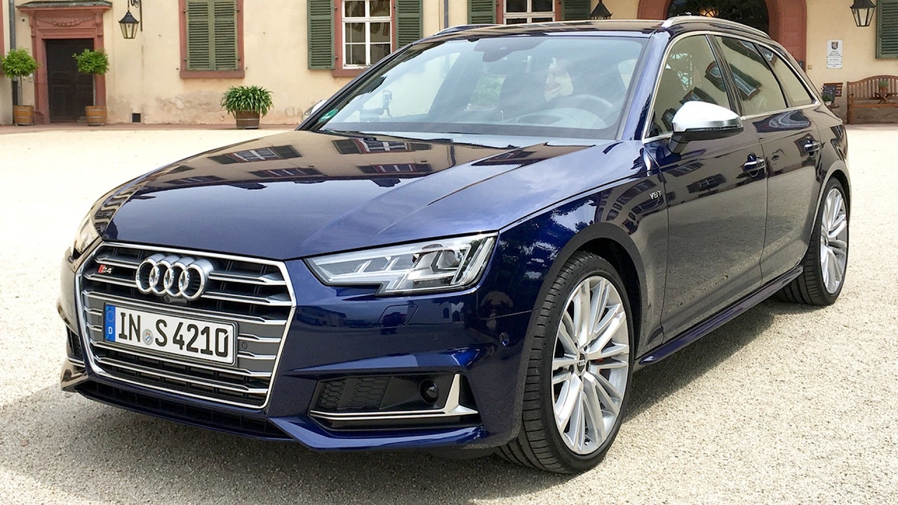 audi s4 avant 3 0 tfsi quattro tiptronic test. Black Bedroom Furniture Sets. Home Design Ideas
