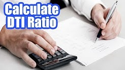 How to Calculate Debt to Income Ratio for Mortgage Loan Simple Calculation