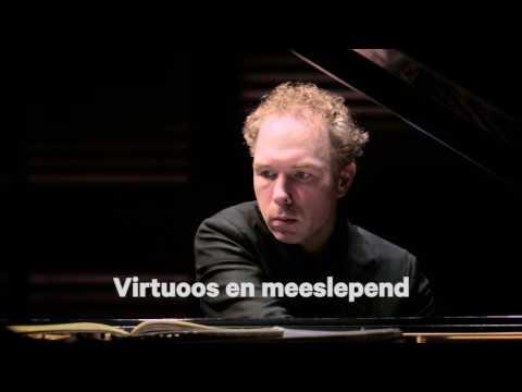 Muziekgebouw aan 't IJ   Ralph van Raat - Alle etudes van Ligeti op één avond   1 maart 2017