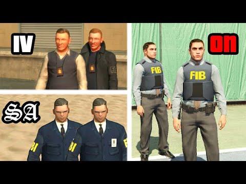 The FBI In GTA GAMES (Evolution)