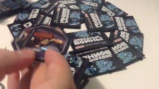 Распаковка жетонов Star Wars из магнита.