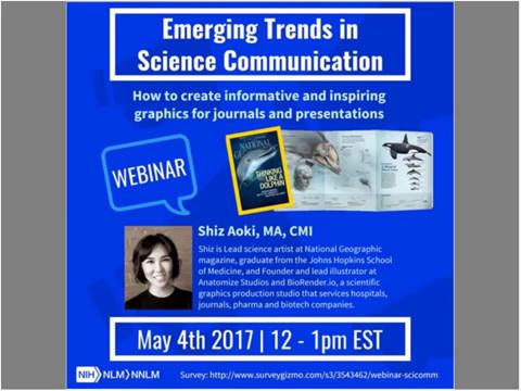 Webinar: Emerging Trends In Visual Science Communication