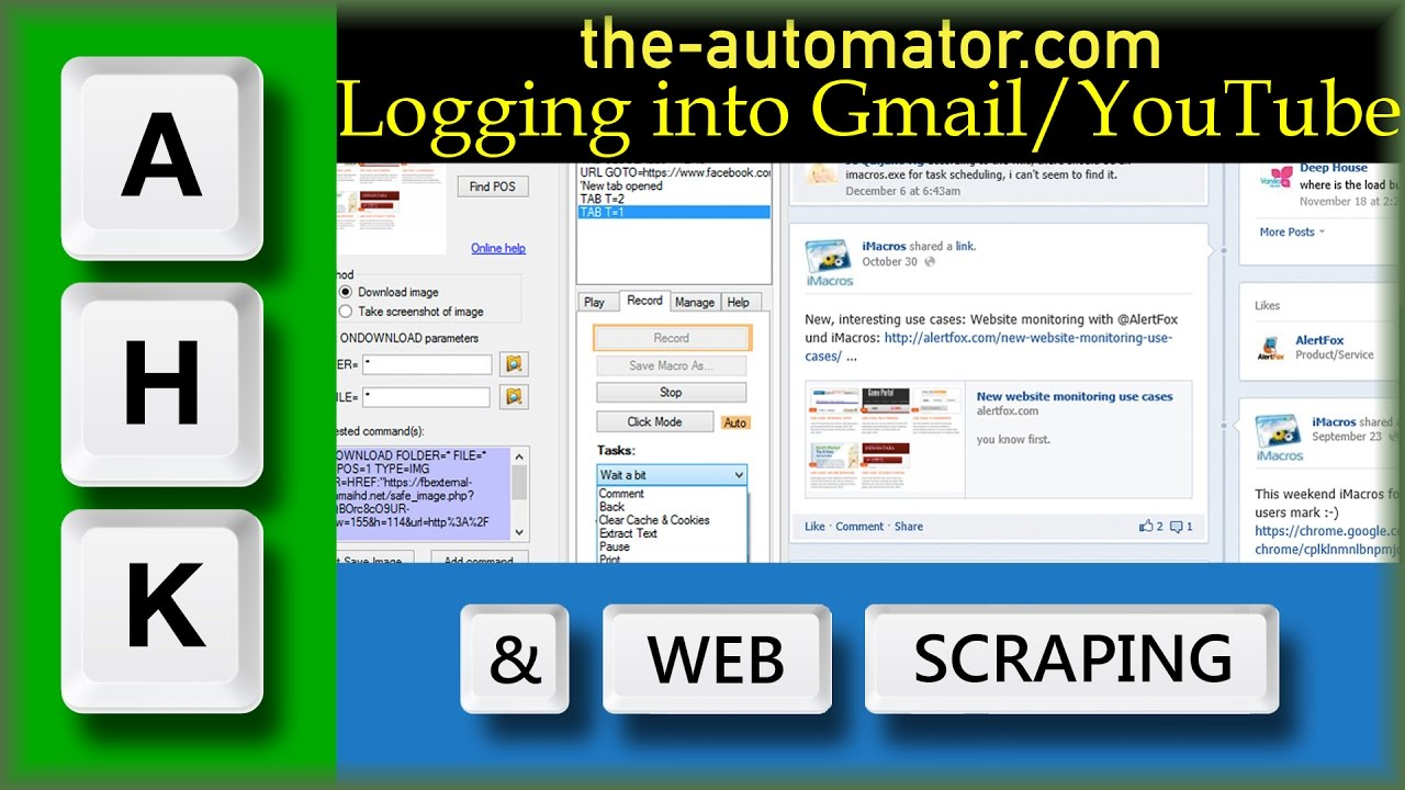 Automate Login to Login to Gmail / YouTube / Google+ with AutoHotkey