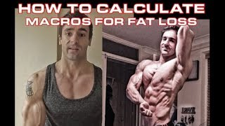 how to calculate macros for fat loss || weight loss calculator date goal || weight loss target date
