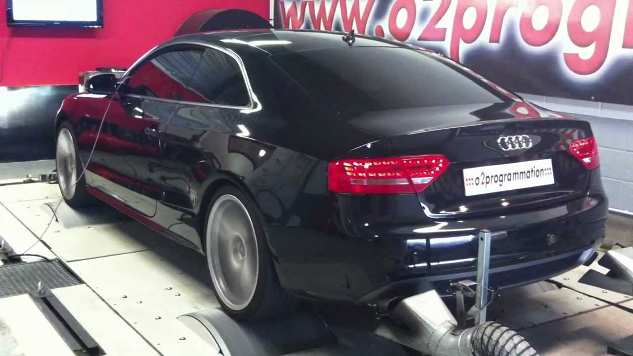 test dyno reprogrammation moteur audi a5 2010 3l tdi 240 r el 229 296ch o2programmation youtube. Black Bedroom Furniture Sets. Home Design Ideas
