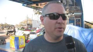 Gettin' the dirt on Jason Hughes at Shady Oaks Speedway