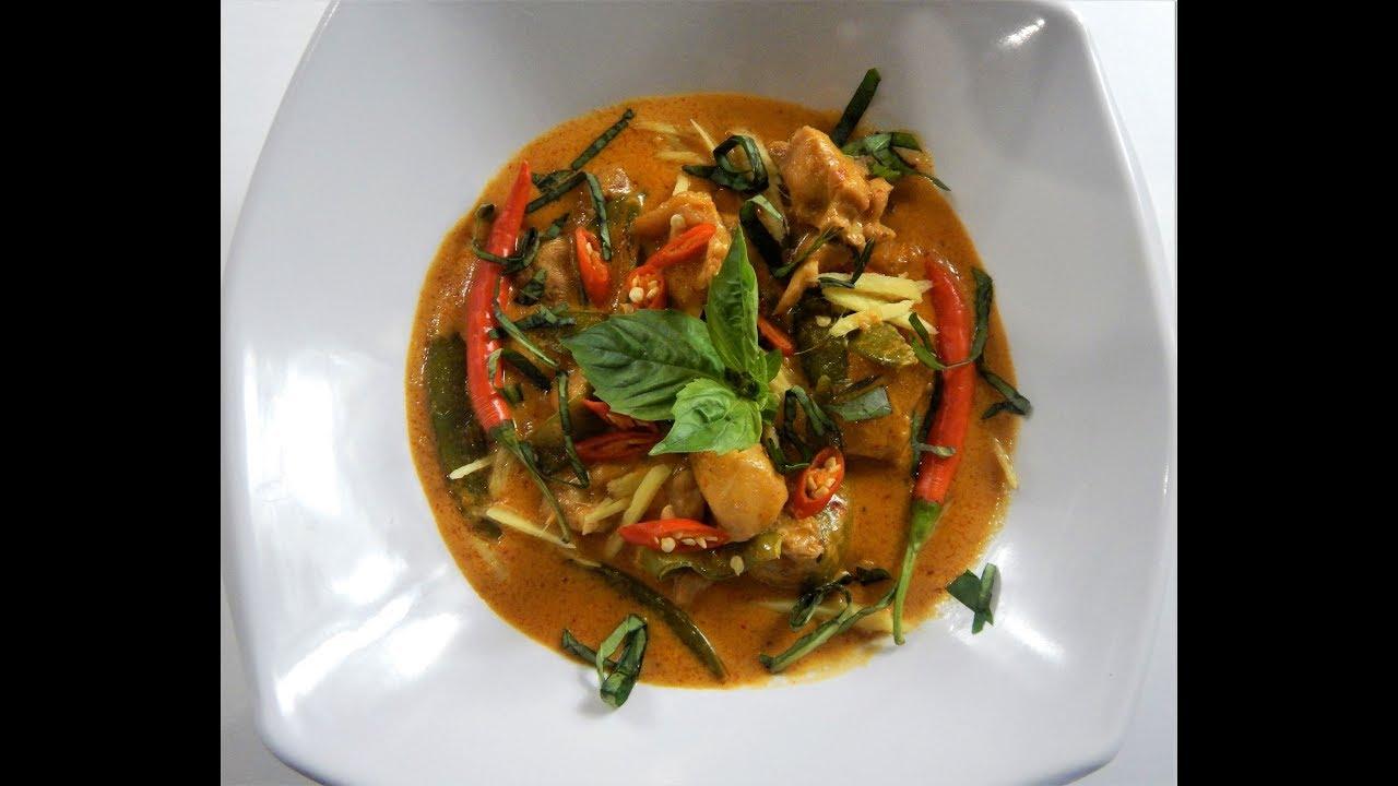 Thai Chicken Red Curry - تھآی چکَن ریڈ کَری
