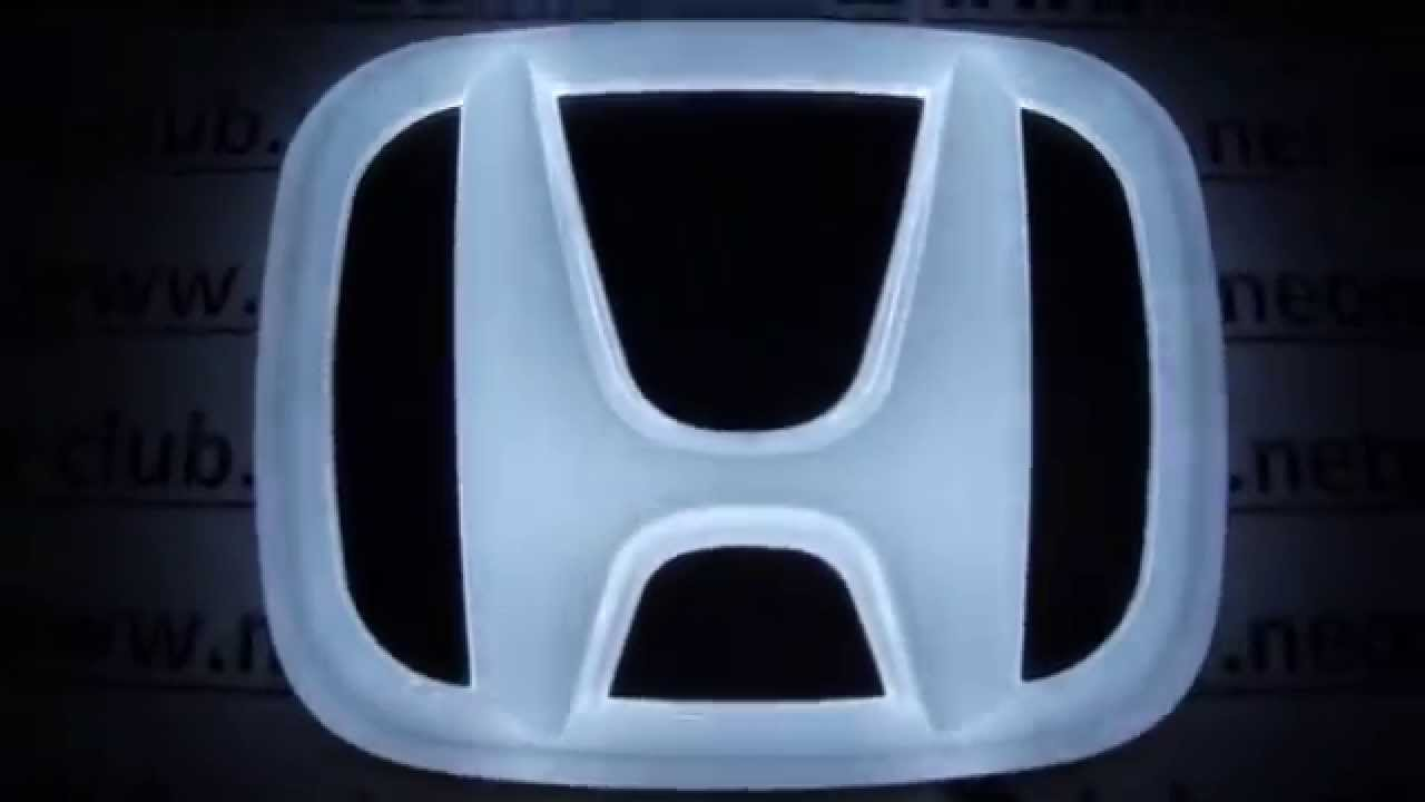 4D Emblem Honda Auto Parts   Best Parts Neon Lights For Cars Honda For Civic,  New Fit, Odyssey 10/07   YouTube