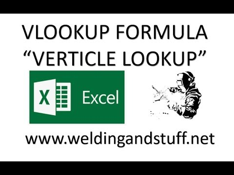 Excel How To Use The Vlookup Formula In Excel For Beginners - YouTube