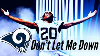 """Jalen Ramsey Rams Hype Mix - """"Don't Let Me Down"""" (WELCOME TO THE RAMS)"""