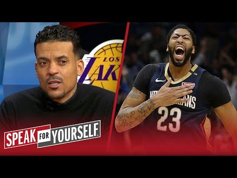 Matt Barnes thinks Anthony Davis will make any team a consistent winner | NBA | SPEAK FOR YOURSELF