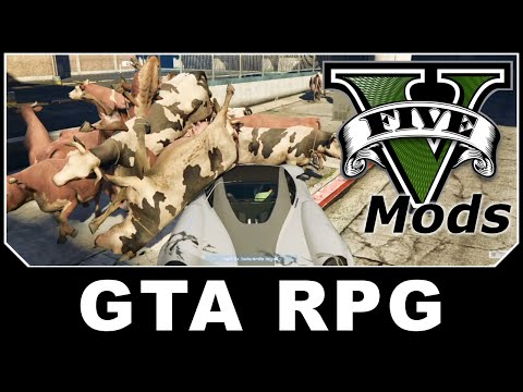 GTAV Mod Spotlight - GTA RPG