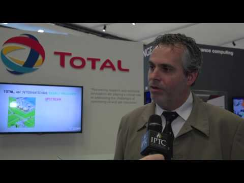 Pascal Breton, TOTAL spoke to Eithne Treanor at IPTC in Doha 2014