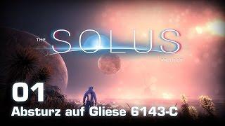 The Solus Project [01] [Absturz auf Gliese 6143-C] [Twitch Gameplay Let's Play Deutsch German] thumbnail