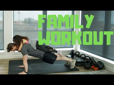 Family Fitness Routine Fun Workout with kids