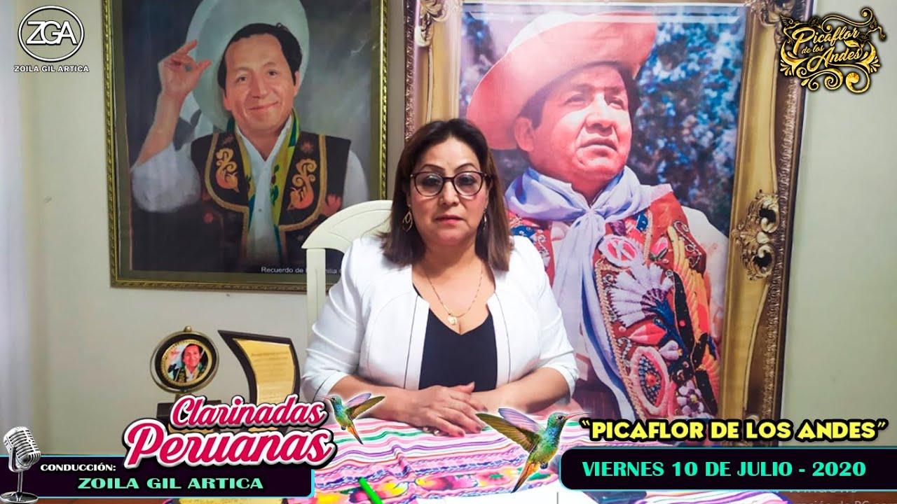 """Clarinadas Peruanas con """"Picaflor de los Andes"""" - Vie 10 Jul 2020"""
