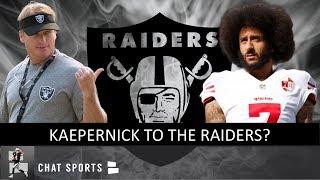 Kaepernick to Oakland? Raiders Rumors: Signing Jermaine Whitehead Or DeShawn Shead + Joyner Injury