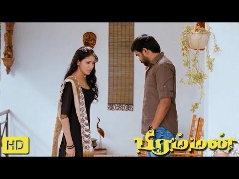 Bramman Tamil Movie   Scenes    M. Sasikumar Request Lavanya Tirpathi To Marriage Naveen Chandra