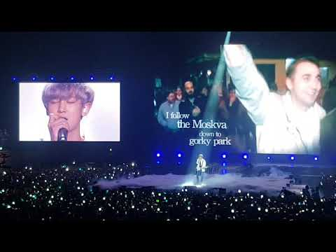 Park Chanyeol (EXO) - Wind of Change (Scorpion Cover) 091518 full fancam