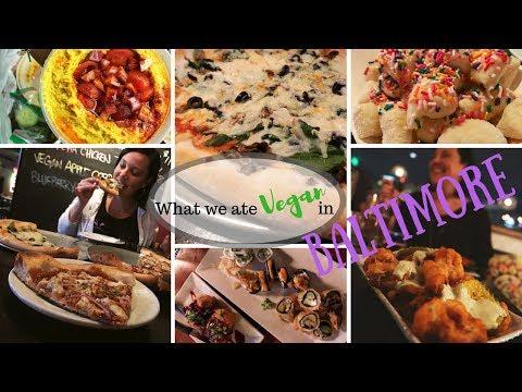 What We Ate Vegan In Baltimore//Pizza//Sushi//Vegan Travel