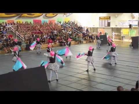 WHEU 03-02-13 West High School - Spirit Day Drill Team