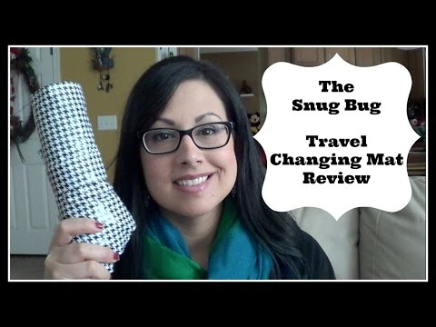 The Snug Bug Travel Changing Mat Review / GIVEAWAY ENDED